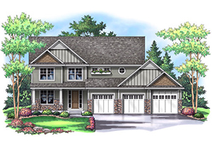 PINEVIEW III   3,212 Finished Sq Ft 4 Bedroom 3.5 Baths