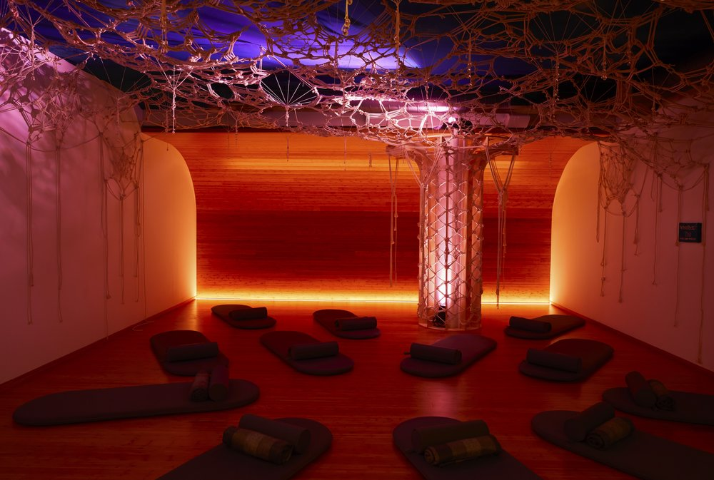 One of the meditation and relaxation rooms at Inscape