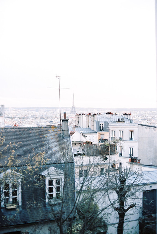 A view of the city from the Sacré-Coeur