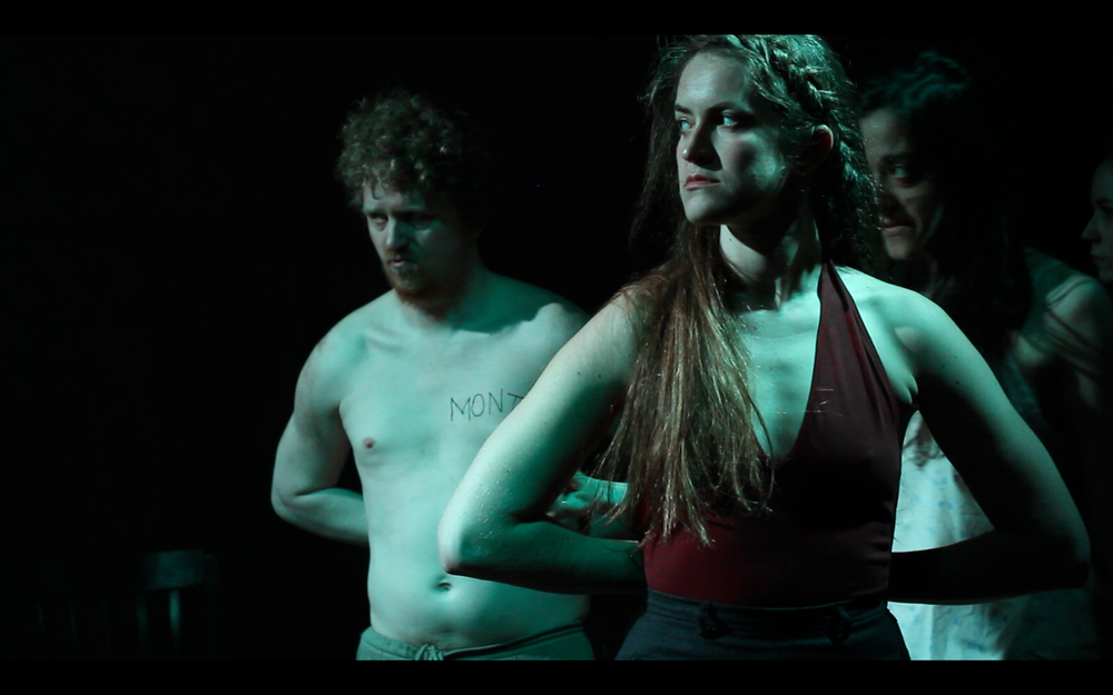 Wolf in The River , written & directed by Adam Rapp at The Flea. hoto by Crystal Arnette.