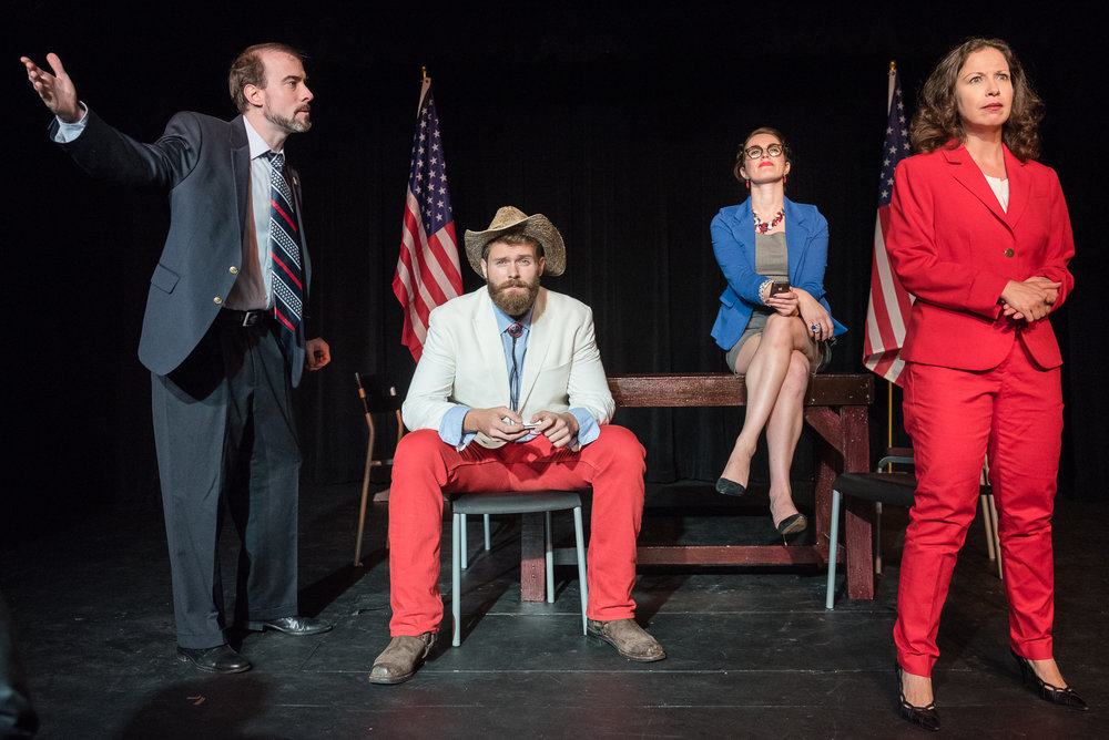 Dream Ticket , winner best overall direction, NYFringe Festival 2016. hoto by Russ Rowland.