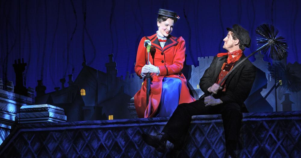 Mary Poppins Magic Cake