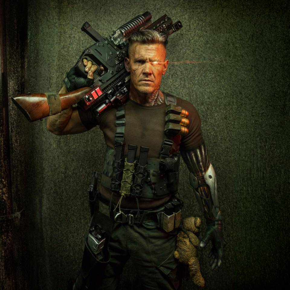 Josh Brolin is Cable