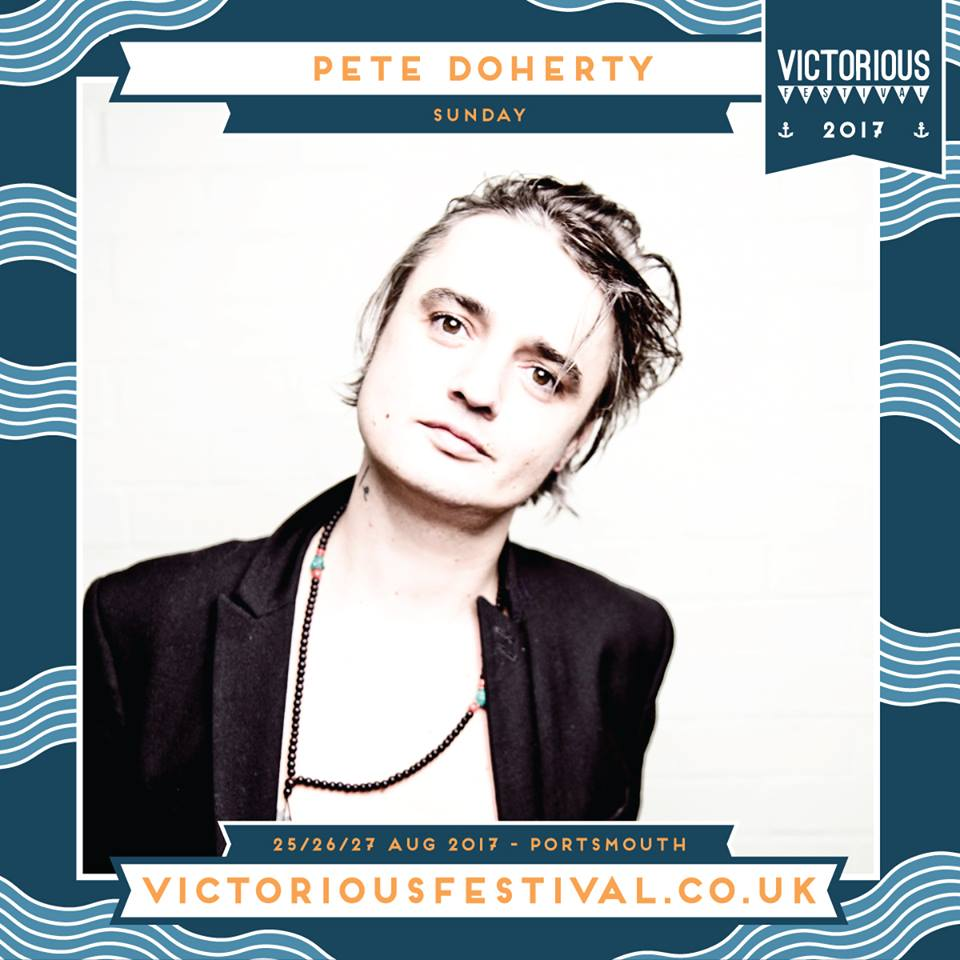 Pete Doherty at Victorious festival