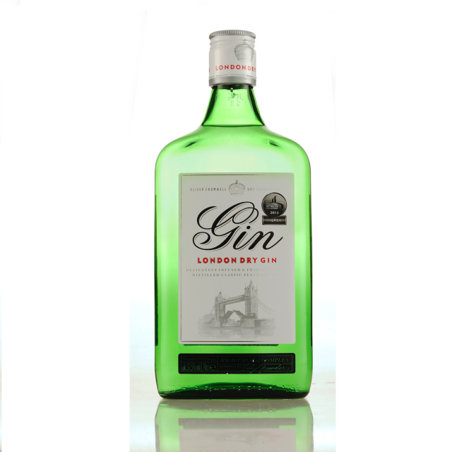 aldi oliver cromwell dry gin