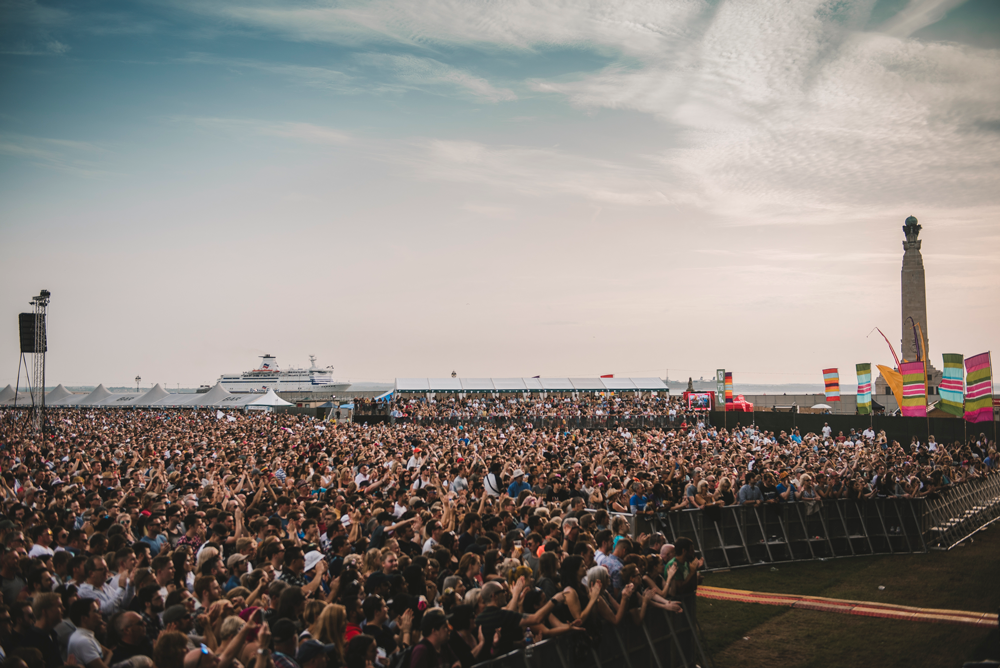 Loving live in Portsmouth! Image (C) Strong Island Media/Victorious Festival