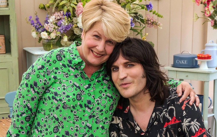 Sandi Toksvig and Noel Fielding host Bake Off