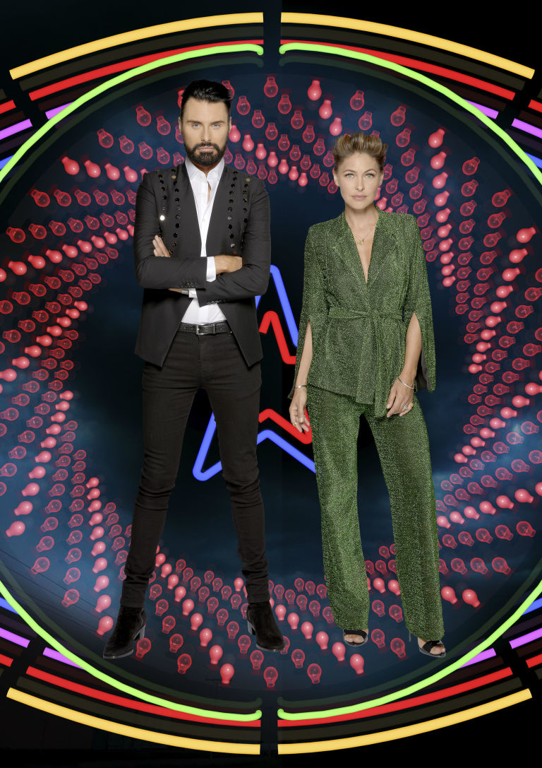 Rylan and Emma return to host Celebrity Big Brother from Thursday, on Channel 5