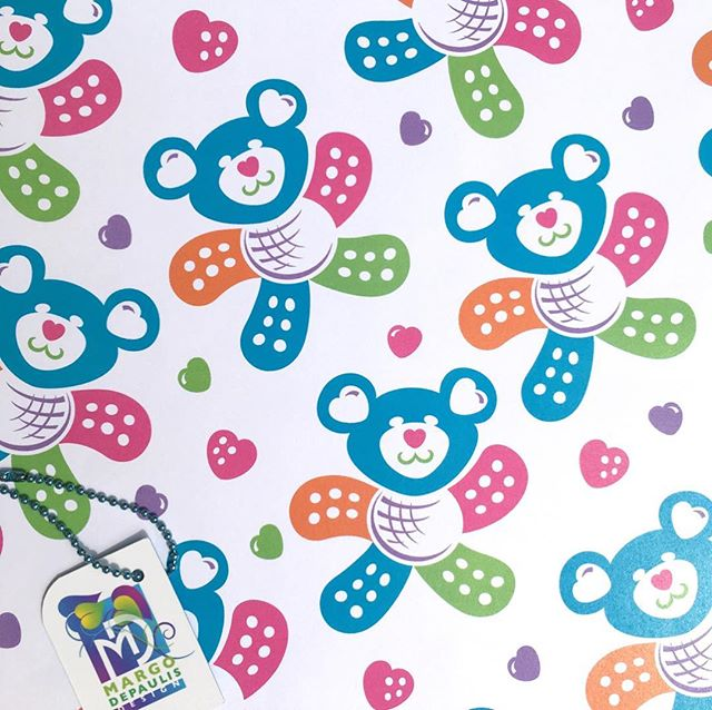 "These cheerful ""Band-Aid Bears"" are my latest attempt at Spoonflower's current contest for Medical Professions. Suitable for scrubs and pediatric wallpaper and decor.  #surfacedesigner #surfacedesign #patterndesign #surfacepatterndesign #textiledesign #fabricdesign #textiledesigner #fabricdesigner  #printandpatterndesign #patternillustration #spoonflower #society6 #caring #healing #nursing #doctors office #nursery #medicaldoctor #uniforms #kids #pediatrics #medicalassistant #cliniclife #hospital #scrubs #childrens #bandaids #teddybear"