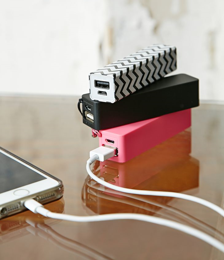 Branded powerbanks in diverse capaciteiten.