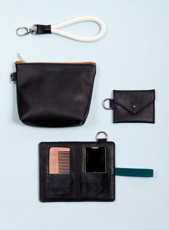 Genuine leather goods
