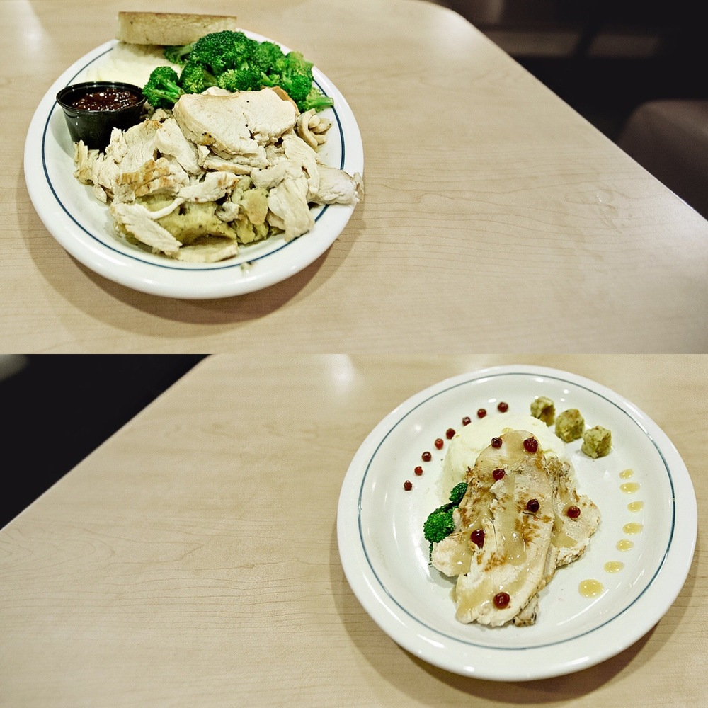 Before/After re-plating PH: Manny Hernandez