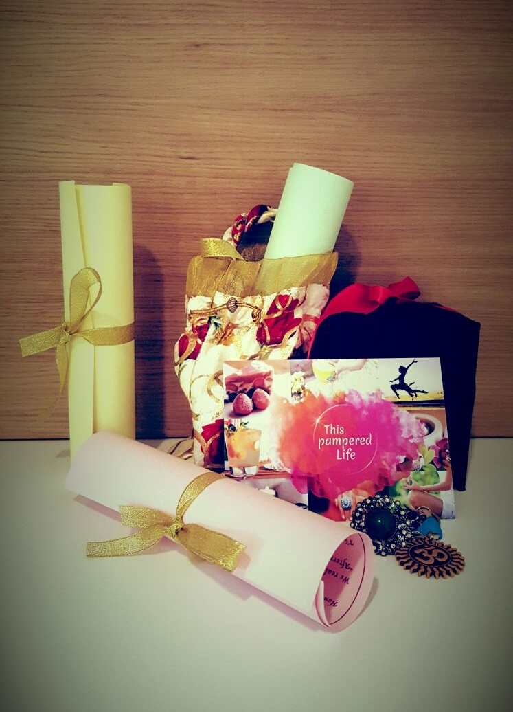 This Pampered Life bespoke gifts and notes for our Stars...its amazing to see how pleasantly surprised they are when they receive these....