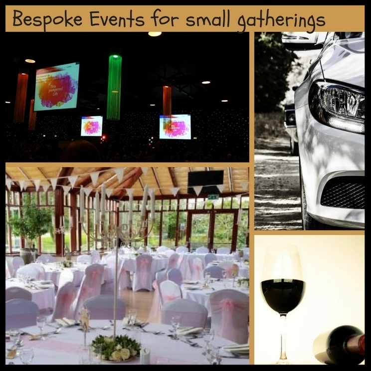 Bespoke event packages