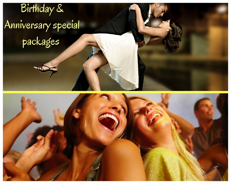 Special occasion experience packages