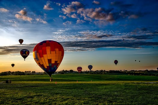 Up in the air - Soak in picturesque views of our famous countryside when you take our hot air balloon experiences. Tell us the date, the time, the occasion and leave the rest to us