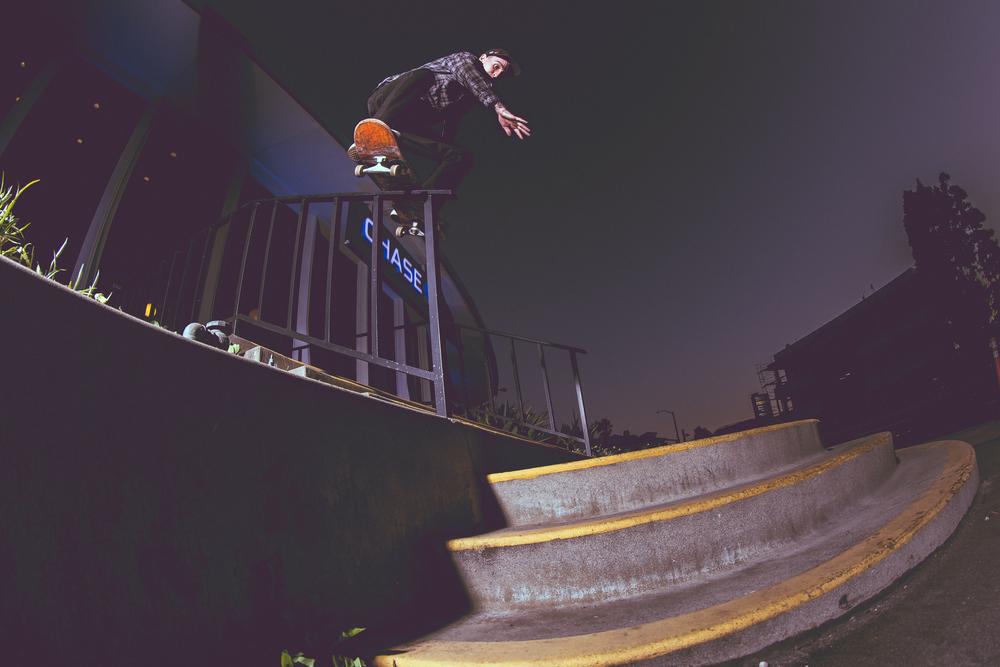 Justin Klegka - Boardslide/ Firecracker