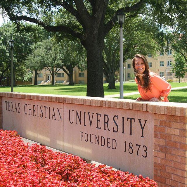 Peyton at TCU 🎓 #TheCollegeDoctor