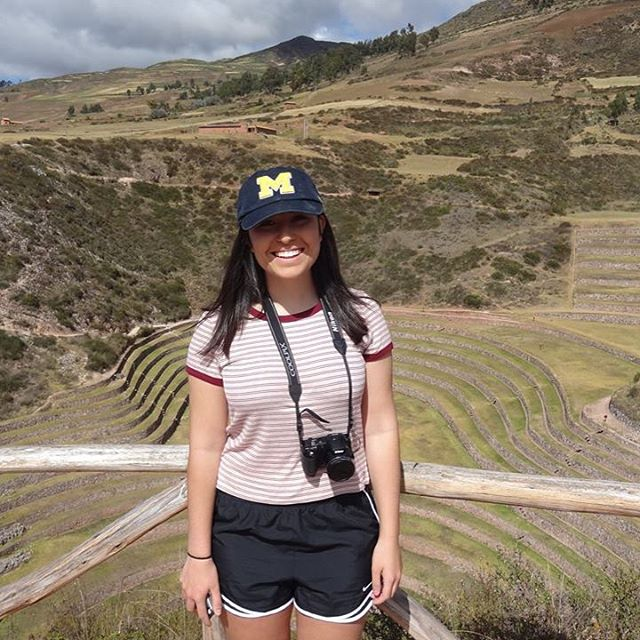 """Go Blue in Peru!"" 🎓 #TheCollegeDoctor @natttgray"