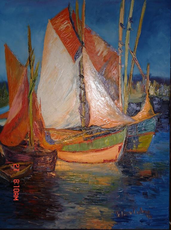 Fishermen dawn