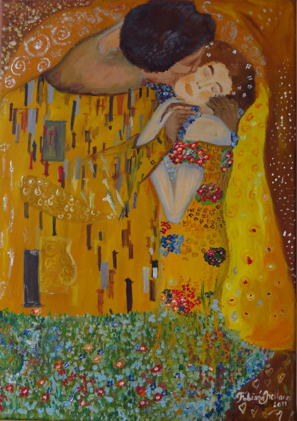 Study about Gustav Klimt's masterpieces