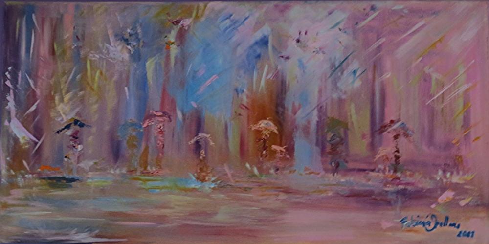 Dancing on the rain
