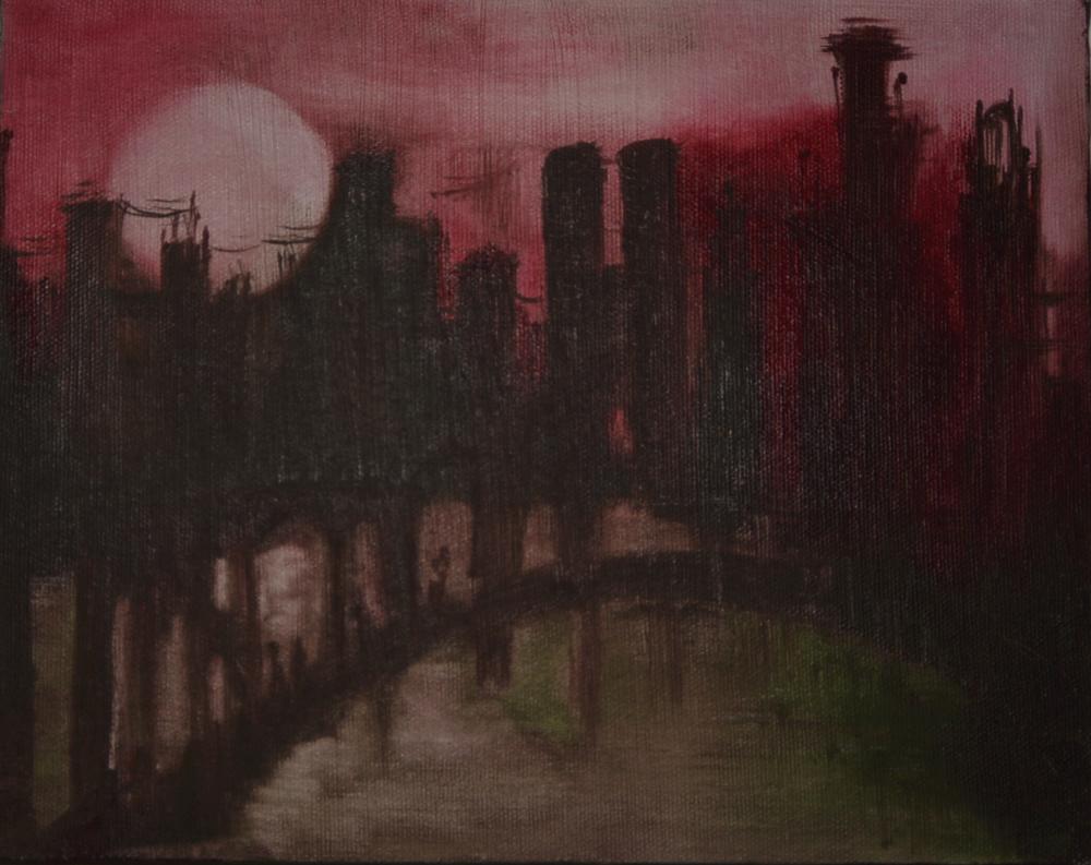 Dawn @ the bridge