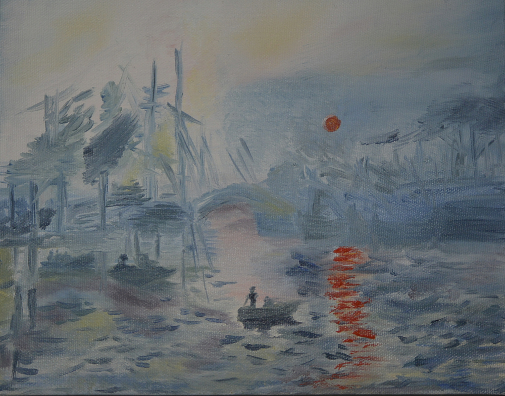 Study about Monet