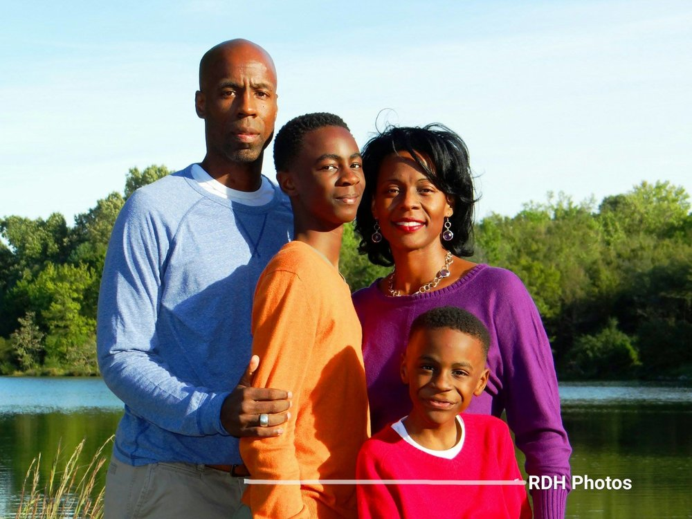 The beautiful Henry family resides in Memphis, Tennessee.