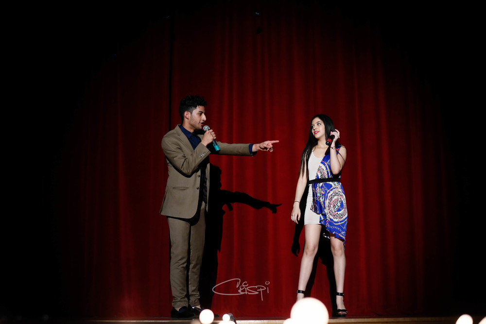 Hosts Aseal Nassar & Ashley Pappatera