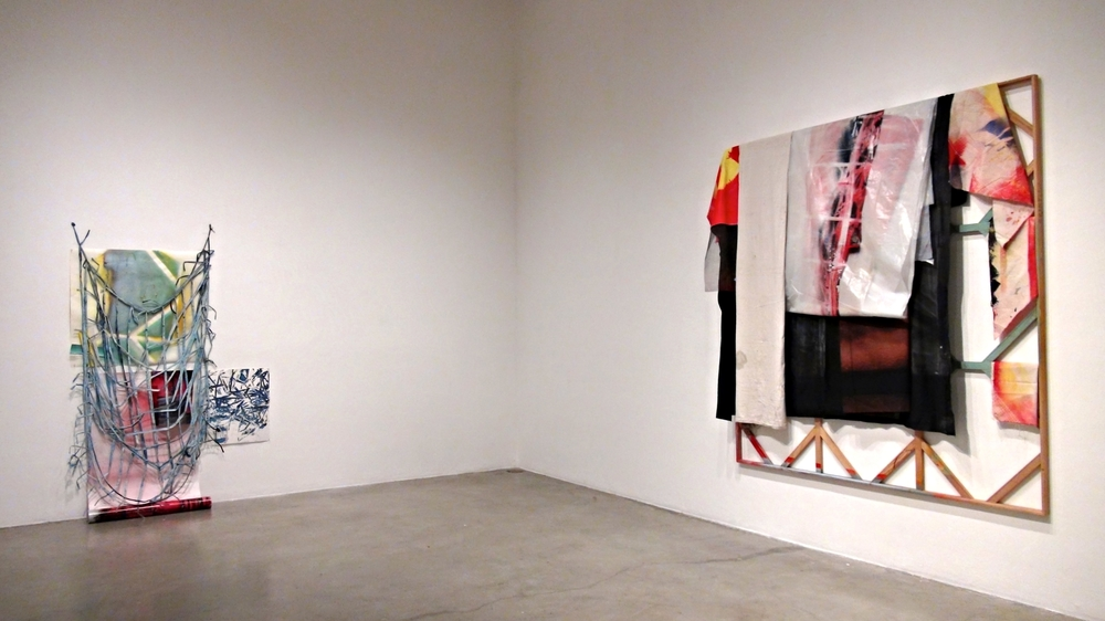 IAIN MUIRHEAD / ROAD TEST June 3 - 7, 2016. Installation view Peggy Phelps Gallery CGU, Claremont.