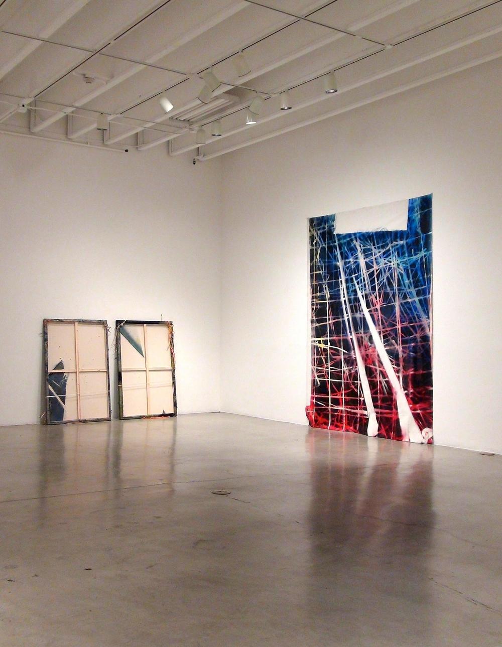 IAIN MUIRHEAD /ROAD TEST June 3 - 7,2016. Installation view Peggy Phelps Gallery CGU, Claremont.