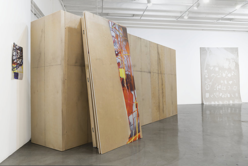 IAIN MUIRHEAD November 7 - 11, 2016. Installation view East Gallery CGU, Claremont.  Photo credit: Sam Kyser.