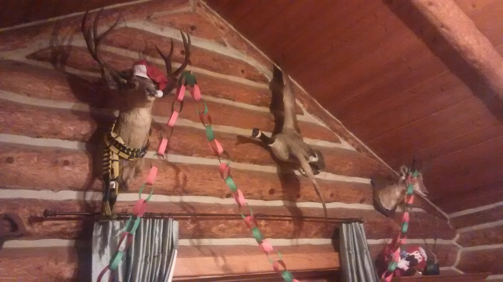 Deck the taxidermy!