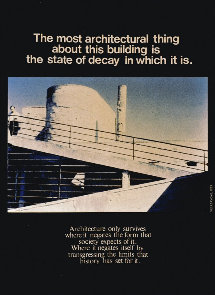 Bagtazo design study bernard tschumi 39 s advertising for for Ad architectural design