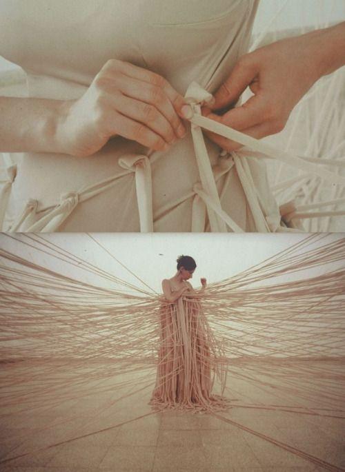 Wall Dress, 2002