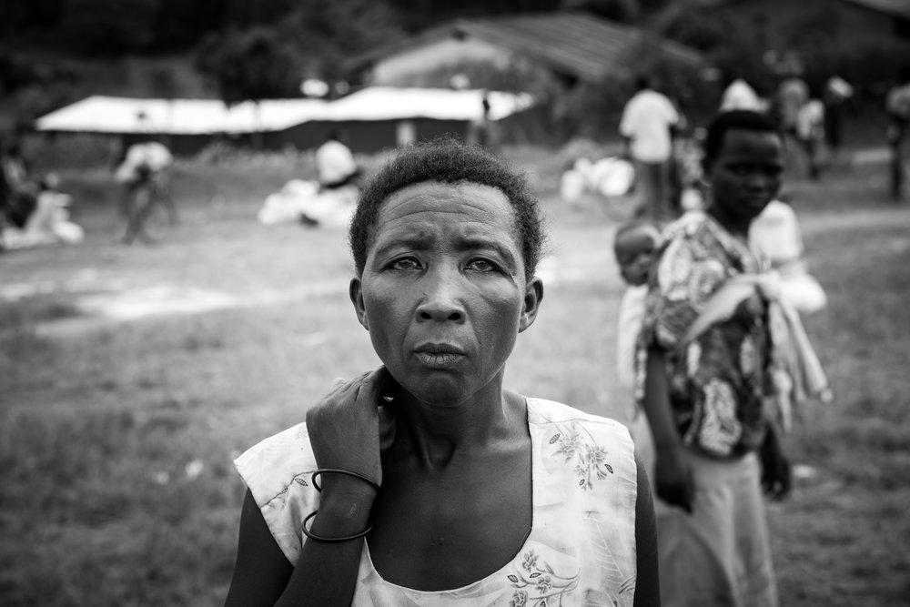 The woman who broke the ice and my tears -Kazinga Refugee Camp