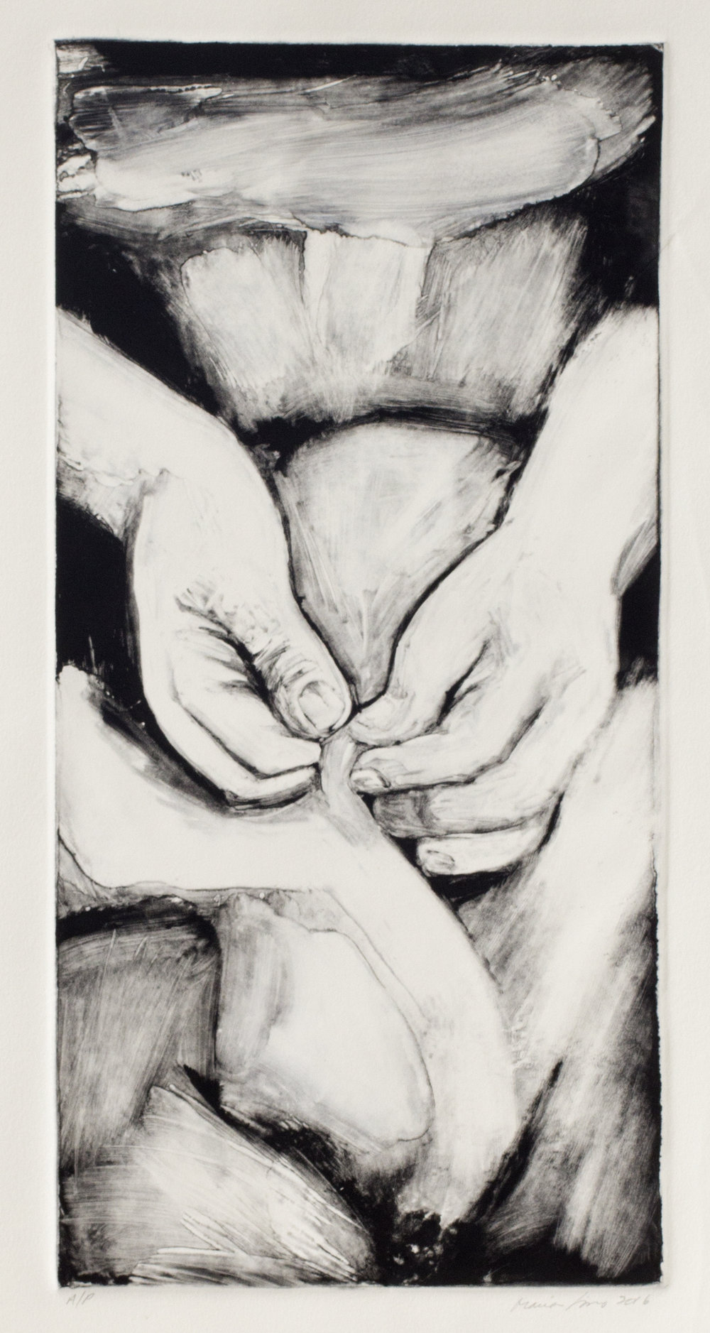 Sewing Hands, 2016