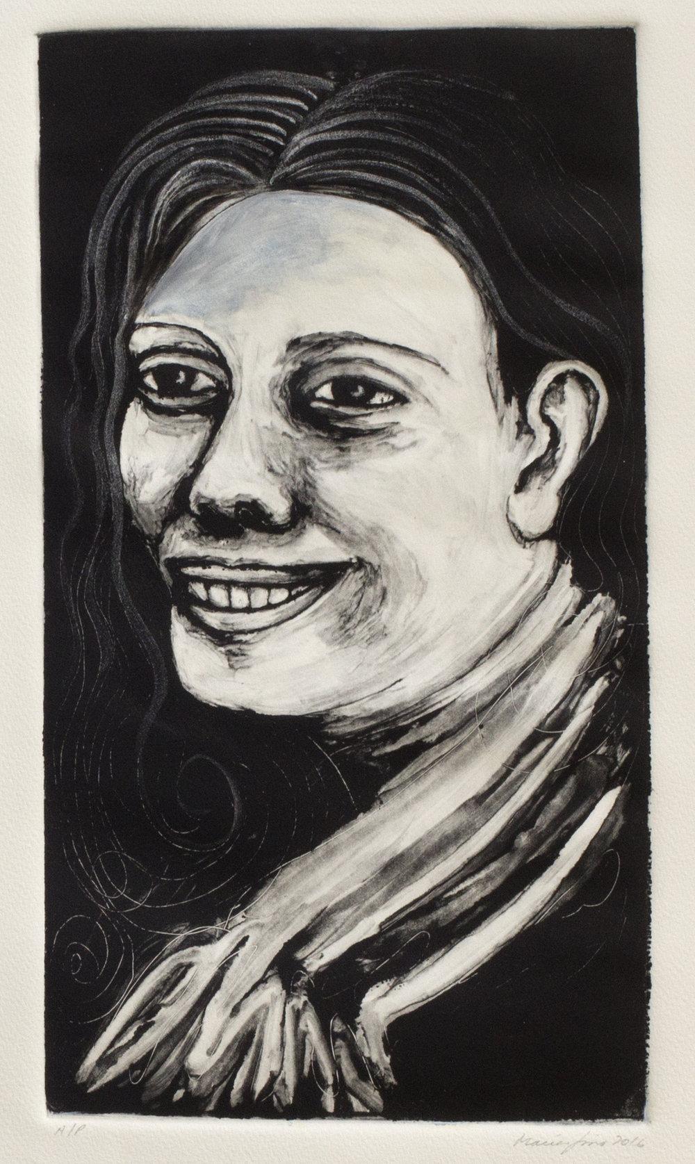 Tia Olga as a Young Woman