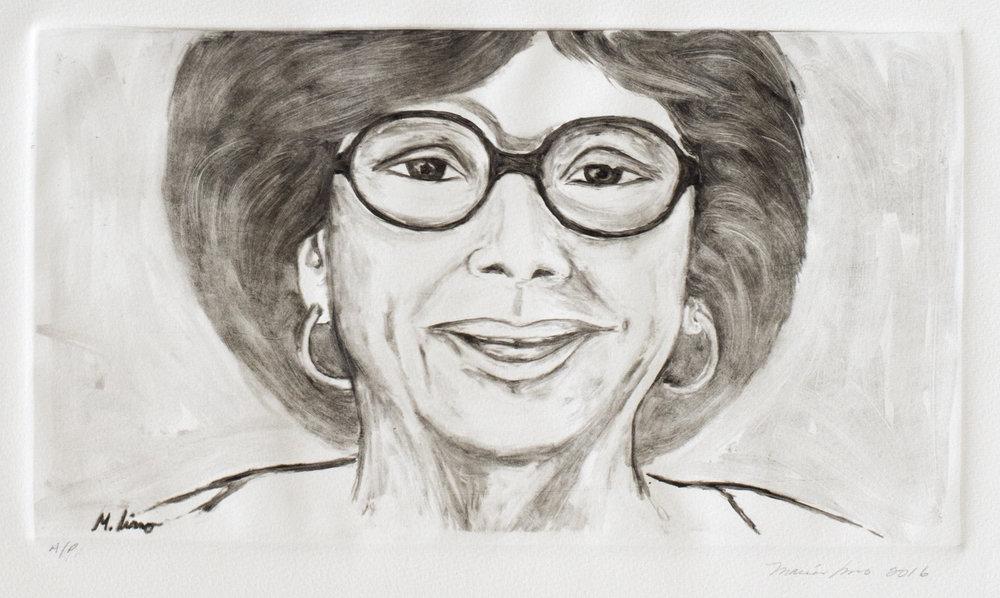 Tia with Eyeglasses