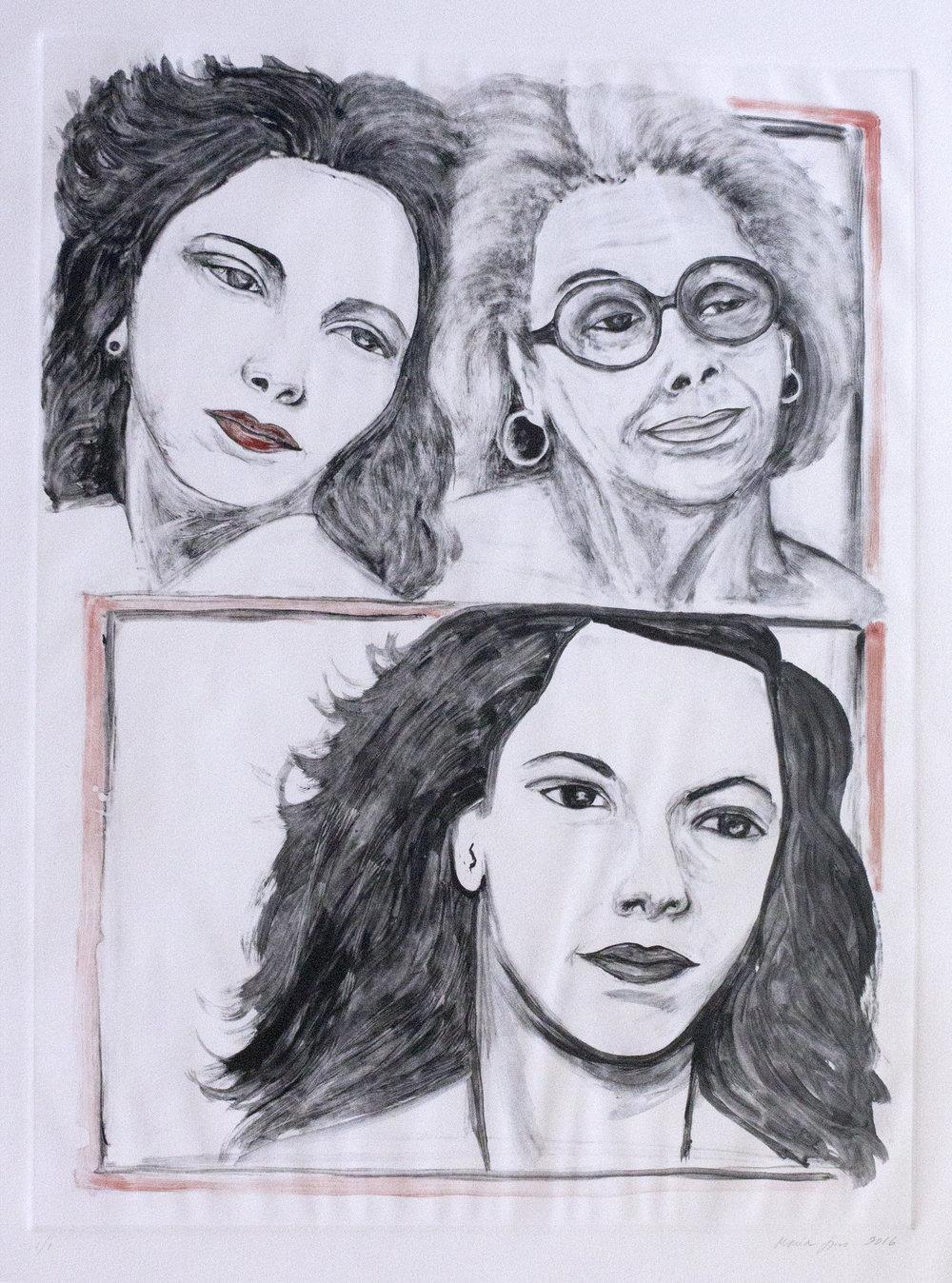 Tia Olga and My Mother, 2016