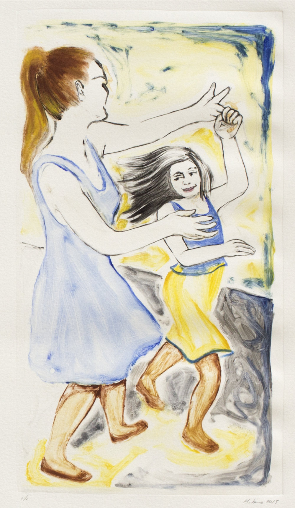 Mother and Child Dancing 1
