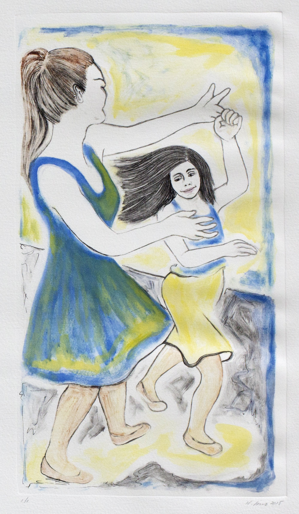 Mother and Child Dancing 2, 2015