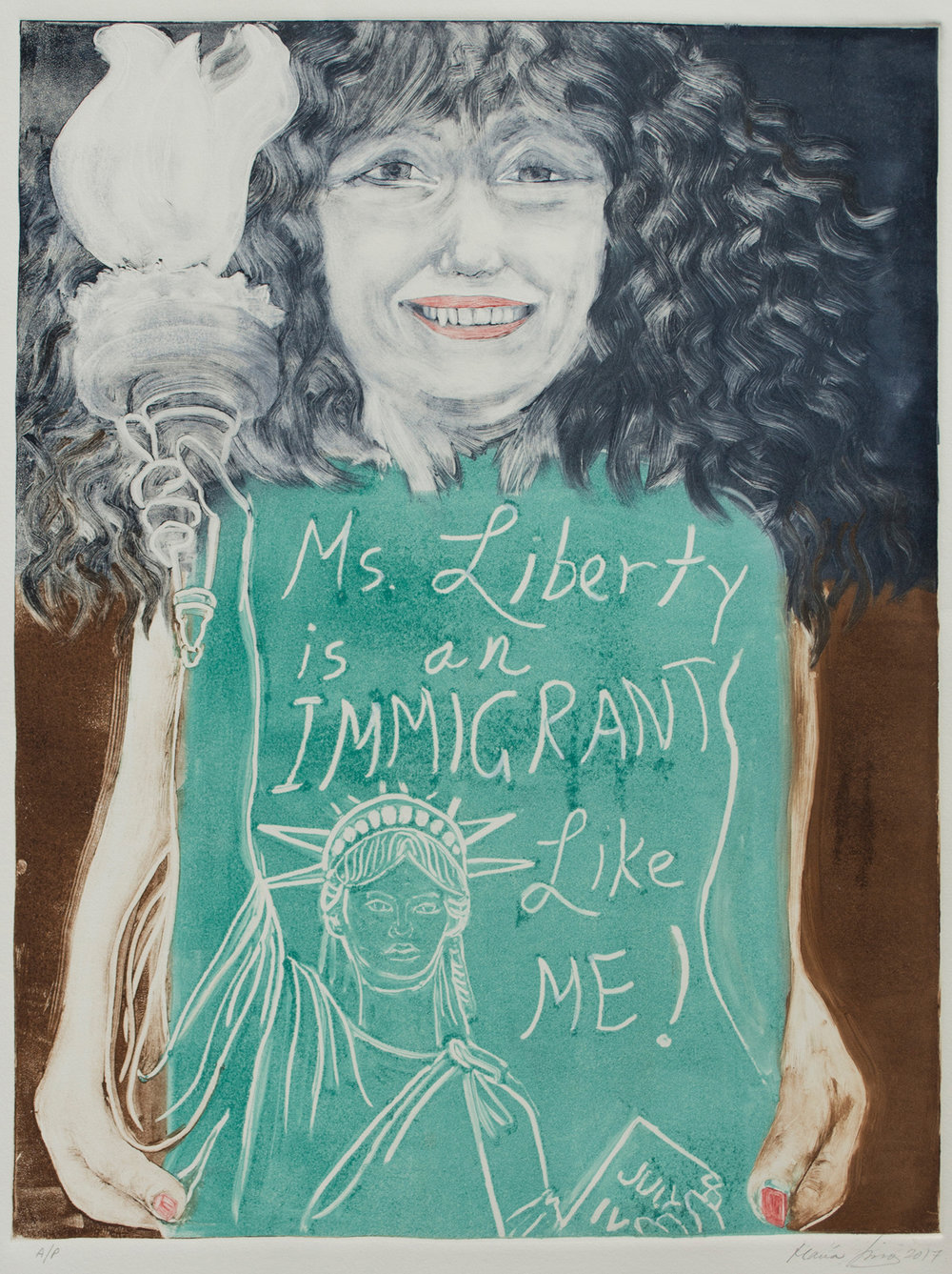 Ms. Liberty, Immigrant, 2017