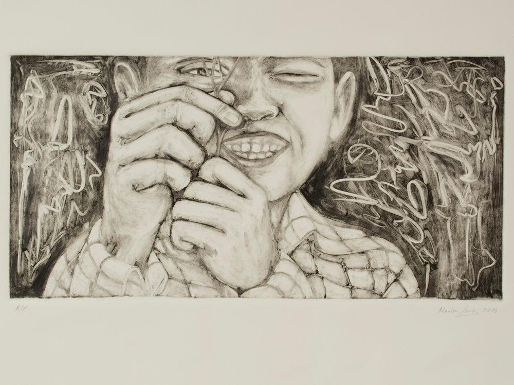 Copy of Boy with Twig, 2016