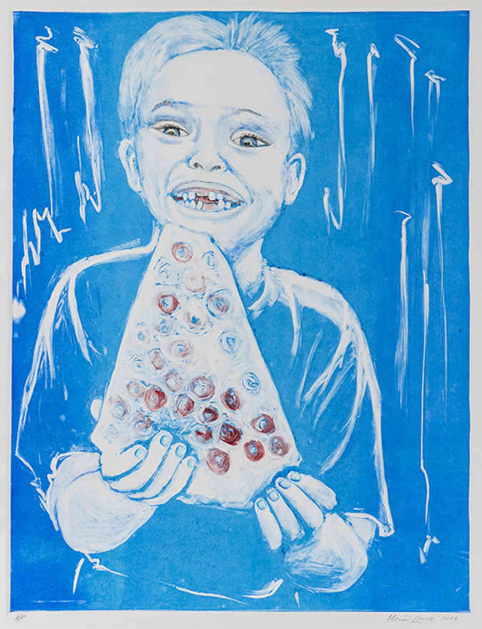 Blue Pizza Boy