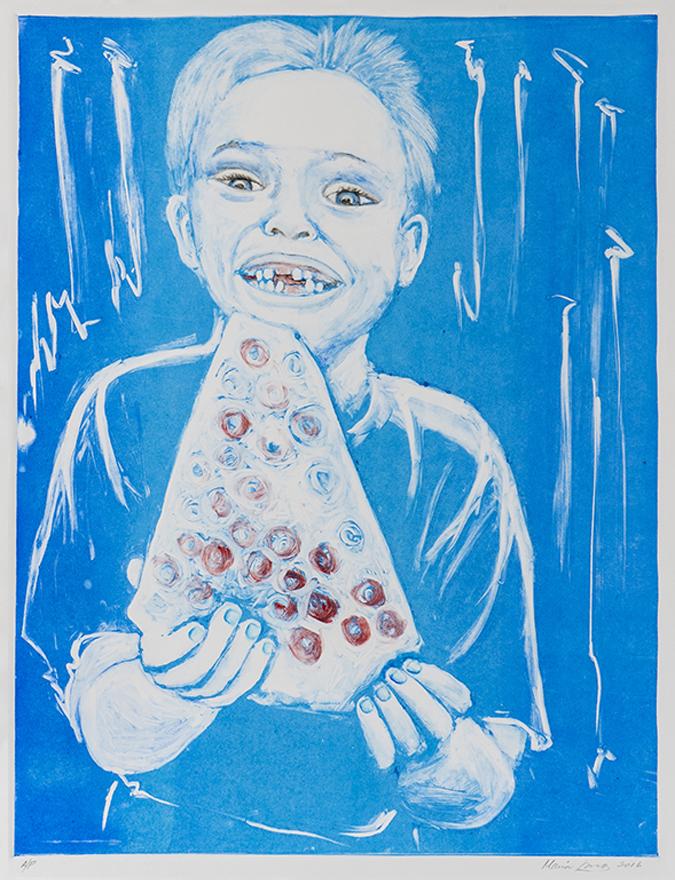 Blue Pizza Boy