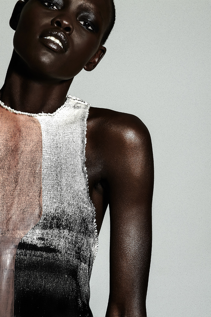 mazzystardust: Beauty Is Power | Grace Bol by Mark Rabadan