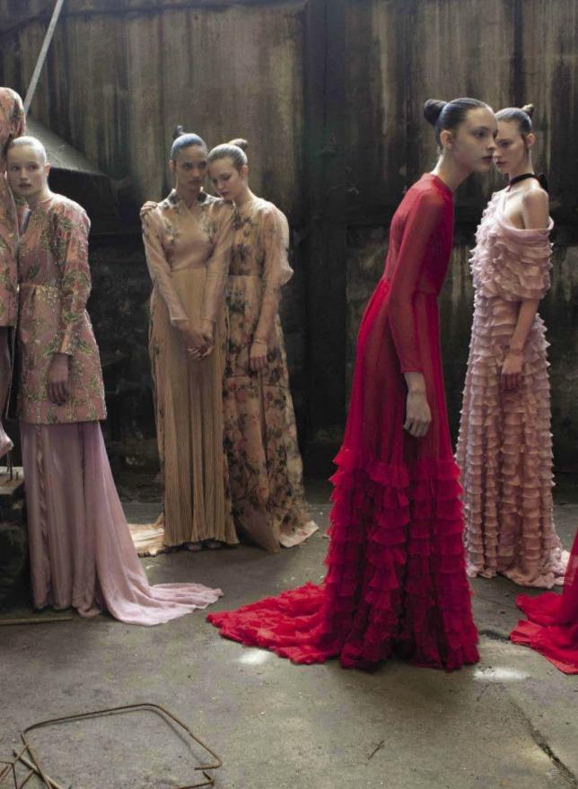 deepmelancholia: Valentino Haute Couture by Deborah Turbeville / Vogue Italia September 2012