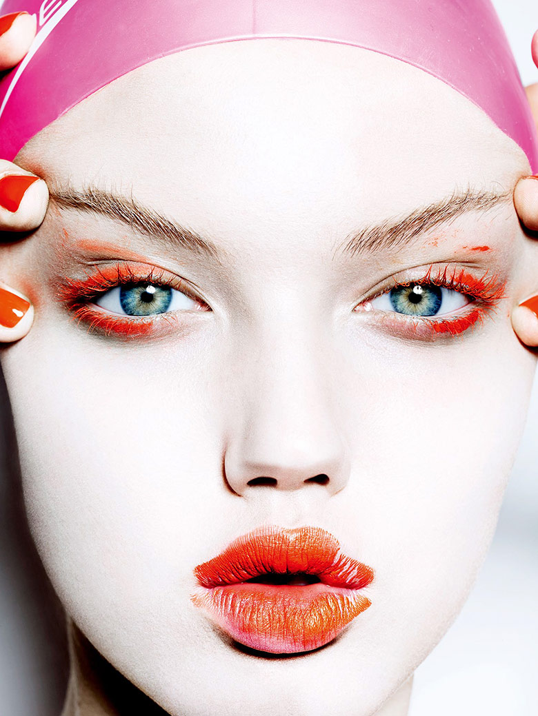 francislare :      Vogue Japan November 2014 w/ Lindsey Wixson     photographer   : Mario Testion     hair : Jimmy Paul    make-up : James Kaliardos